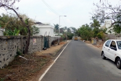 Akkarai ECR Plot Abutting Road 2