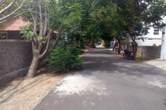 Road in CMDA Approved Layout in ECR
