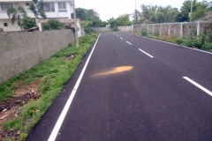 ECR Residential Layout Road