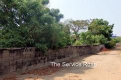 ECR Injambakkam 5 Gr Approved Plot-Service Road