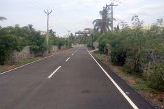 Approved Plot Abutting Road