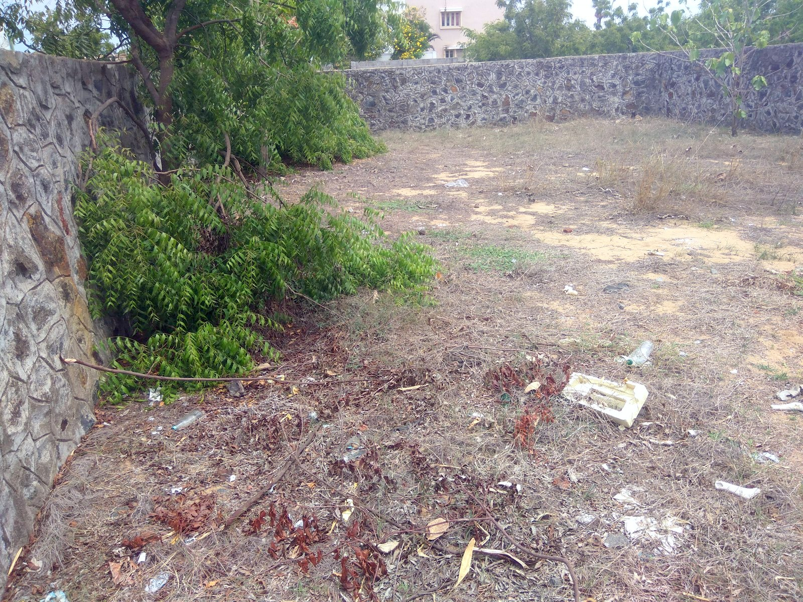 residential north facing plot for sale in ecr