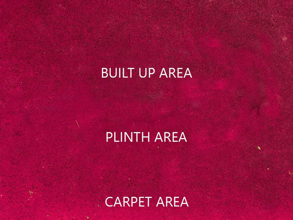 CARPET AREA, PLINTH AREA AND SUPER BUILT-UP AREA 3