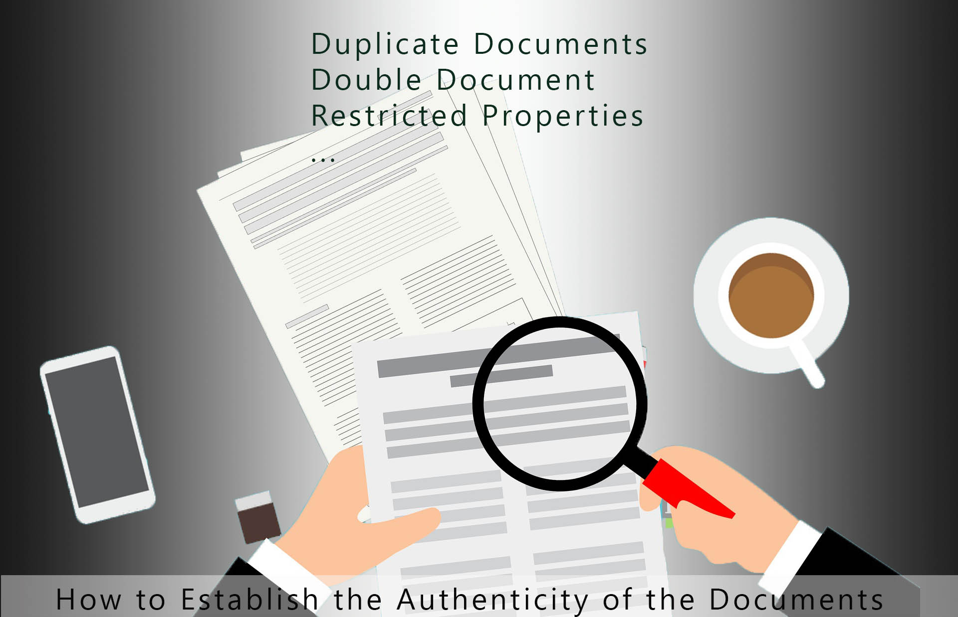 Duplicate and Double Documents